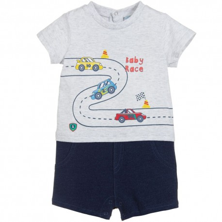 JUMPERS  NIÑO CARROS EFECTO DENIM LOSAN REF 91V-9003AA