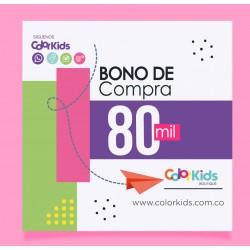 BONO DE REGALO 80.000