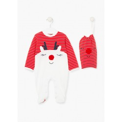 Pijama navideña REF 02V-P008