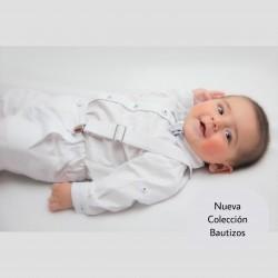 CONJUNTO BORDINO NIÑO REF 961L BLANCO