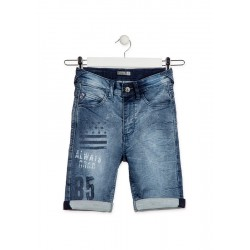 BERMUDA LOSAN JUNIOR REF 913-6010 DENIM
