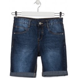 BERMUDA LOSAN JUNIOR REF 913-9661AA DENIM OSCURO