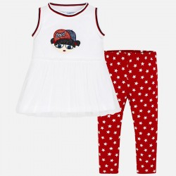 CONJUNTO LEGGINGS MINI NIÑA MAYORAL REF 3708